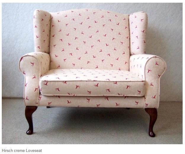 STEEN Design HIRSCH La Cassetta Love Seat