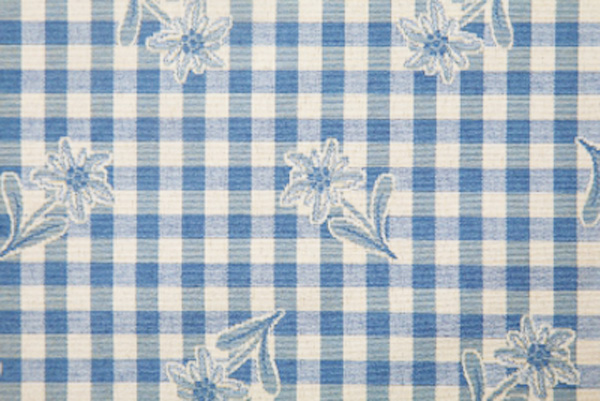 meterstoff edelweiss blau stoff alpin karola cassetta. Black Bedroom Furniture Sets. Home Design Ideas