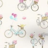 THEVENON Stoff La Cassetta A BICYCLETTE 1 Stoff Fahrrad
