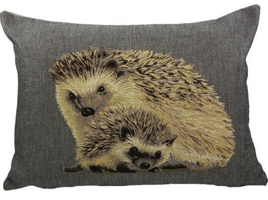 kissen gobelin klein waldtier igel kissen igelchen la cassetta. Black Bedroom Furniture Sets. Home Design Ideas