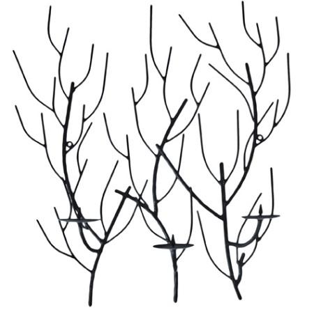 Eisen Wandleuchter Tree VARIA LIVING La Cassetta