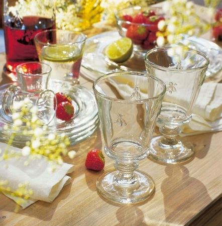 abeille long drink bier radler saft glas biene aus frankreich la cassetta. Black Bedroom Furniture Sets. Home Design Ideas