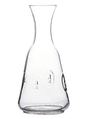 La Rochere Glas Karaffe FLEUR DE LYS Lilie