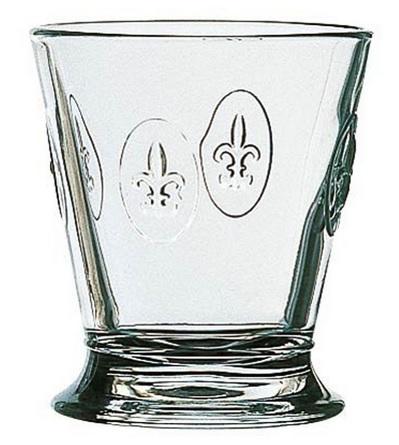 La Rochere Glas gobelet FLEUR DY LYS Lilie 1