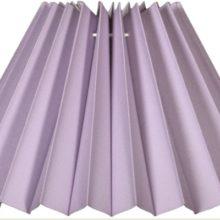 NORDIKA Lampenschirm gefaltet violett UF F2 1