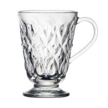La Rochere Teeglas Henkelbecher Glas mug LYONNAIS