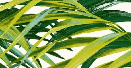 THEVENON Stoff PALM SPRINGS Palmen grün La Cassetta 3