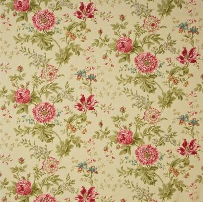 SANDERSON UK ELOUISE willow pink 1 Stoff Englische Wiese Wildblumen La Cassetta