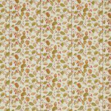SANDERSON UK WOODLAND BERRIES rosehip moss 1 Herbst Blätter Beeren La Cassetta