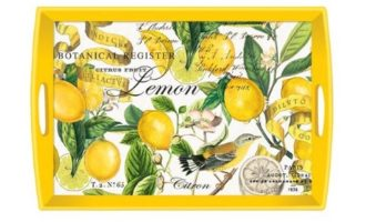 Tablett MICHEL DESIGN WORKS large Lemon Basil