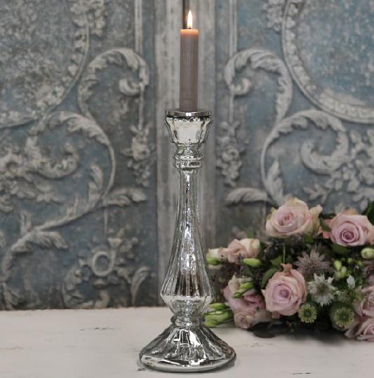 bauernsilber leuchter kerzenhalter jana f r 1 stabkerze la cassetta. Black Bedroom Furniture Sets. Home Design Ideas