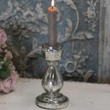 Bauernsilber Kerzenleuchter Stab silber antik 3 La Cassetta
