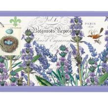 Tablett MICHEL DESIGN WORKS klein LAVENDER ROSEMARY Lavendel Rosmarin