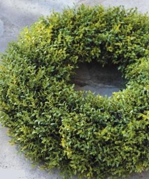 Dekokranz Türkranz Gras Blätter grün La Cassetta