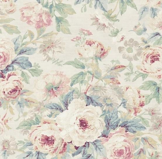 SANDERSON UK Meterstoff AMELIA ROSE wedgwood rose La Cassetta 2