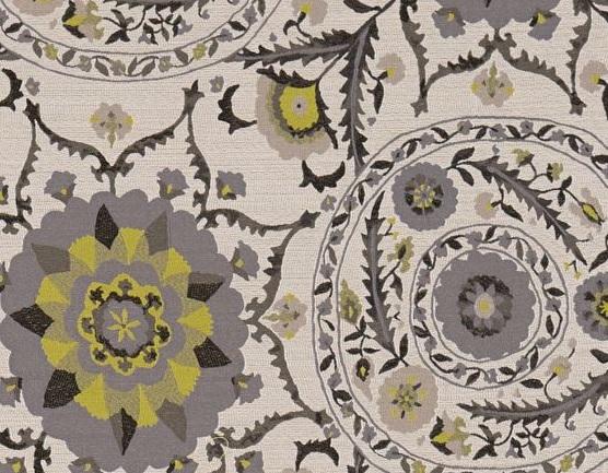 SANDERSON UK Meterstoff ANTHOS chacoral linden Jacqaurd orientalisch La Cassetta 2