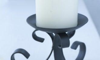 Eisen Stumpenkerzen Leuchter CLIFF Varia Living La Cassetta 1