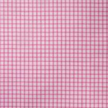 ILI STOFFE Meterstoff CAPE ISLAND petal Karo rosa weiß La Cassetta