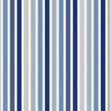 Thevenon Meterstoff Symphonie bleu 1344606 Streifen La Cassetta
