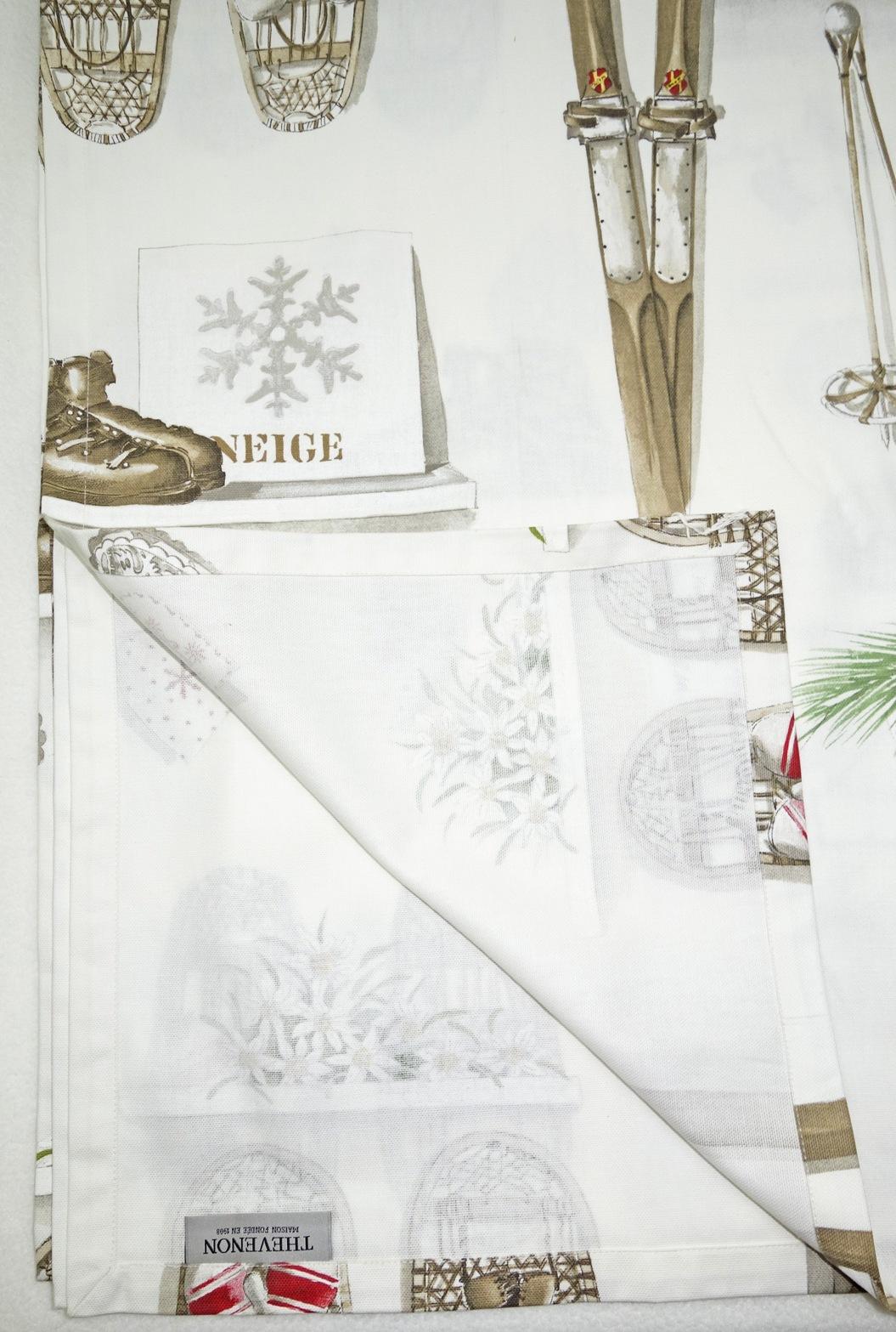 Tischdecke MERRY BELL 160x260cm Weihnachten THEVENON La Cassetta 2