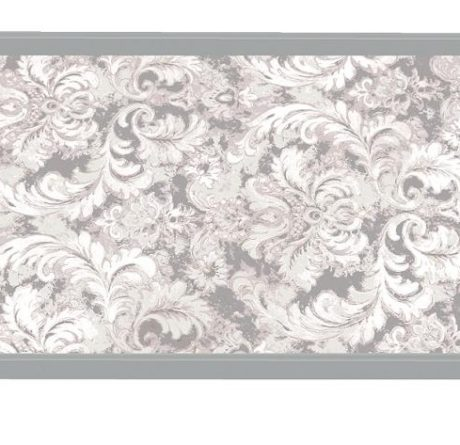 Tablett Michel Design Works Lacktablett Decoupage klein EARL GREY grau silber La Cassetta