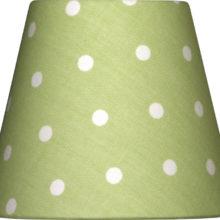 NORDIKA Lampenschirm glatt E14 PPG W1 Lieblingslampen Landhausstil La Cassetta