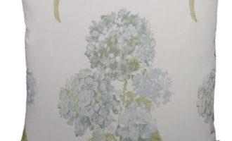 Kissenhülle BATH Hortensie blau 40x40cm LAZIS La Cassetta Wien