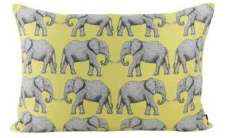 Kissenhülle 50x70cm DUMBO gelb Elefant Steen Design La Cassetta