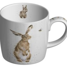 Royal Worcester WRENDALE Mug The Hare and The Bee HASE und BIENE La Cassetta