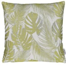 Kissenhülle AMAZONAS Blätter oliv grün 45x45cm LAZIS La Cassetta