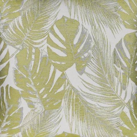 Meterstoff AMAZONAS Blätter oliv grün LAZIS La Cassetta