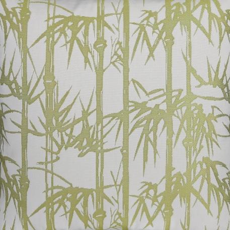 Meterstoff BAMBOO Bambus oliv grün LAZIS La Cassetta