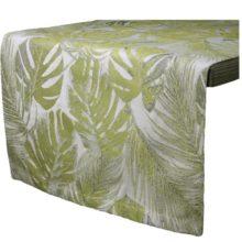 Tischwäsche AMAZONAS Blätter oliv grün LAZIS La Cassetta