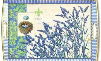 Tablett MDW large Lavender Fleur Michel Design Works La Cassetta Wien