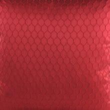 Meterstoff CHELSEA rot Steen Design Wabenoptik eleganter Meterstoff La Cassetta