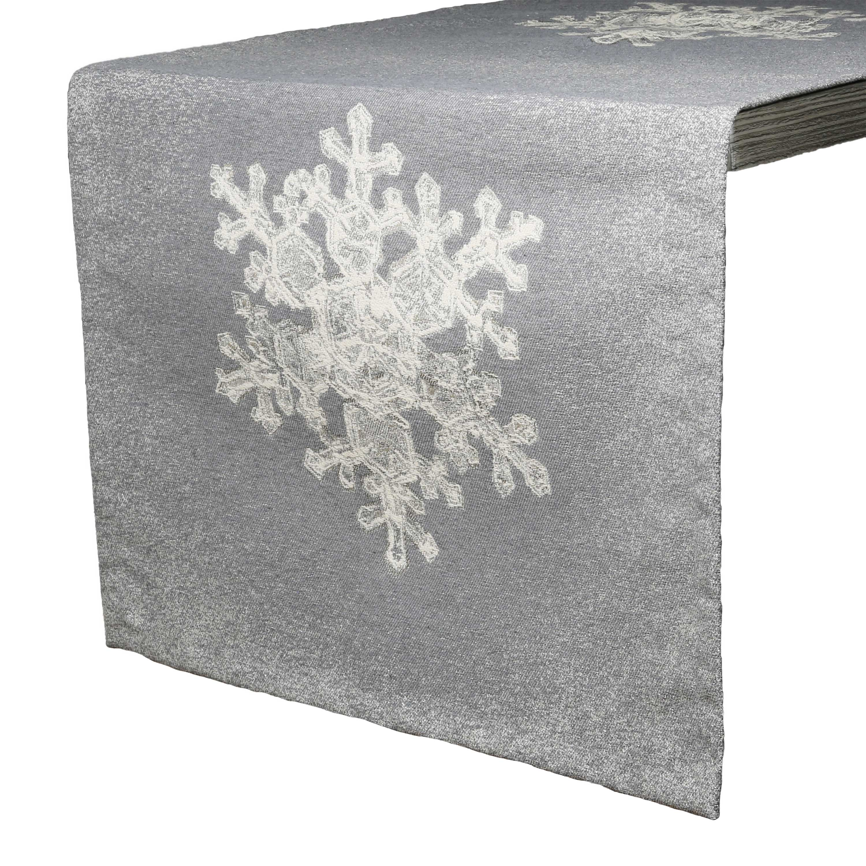 Tischläufer EISKRISTALL Winter Weihnachten 50x140cm LAZIS La Cassetta