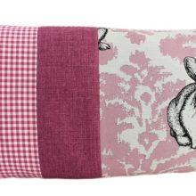 Kissenhülle 35x70cm Vichy pink MOPPEL Hase pink Steen Design online kaufen La Cassetta