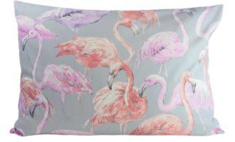 Kissenhülle 50x70cm FLAMINGO grau Steen Design Kissen online kaufen La Cassetta Wien