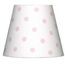 NORDIKA Lampenschirm glatt E14 Landhausstil APHR W1 La Cassetta