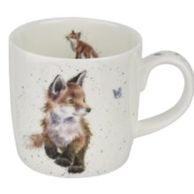 Royal Worcester WRENDALE Mug Fuchs Born to be wild La Cassetta