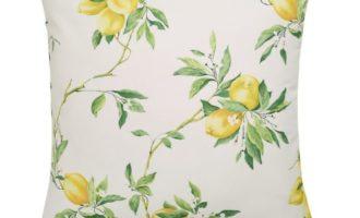 Kissenhülle LIMONES Zitronen Kissen nach Maß Steen Design La Cassetta