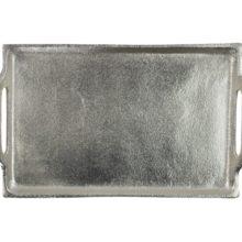 Tablett Alu Nickel MARS MORE rechteckig 36x22cm online kaufen La Cassetta Wien