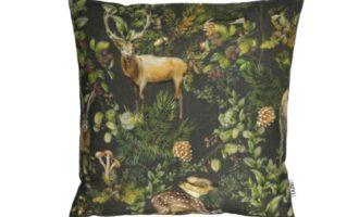 Kissenhülle GO WILD Lazis Herbst Wald Waldtiere Pilze La Cassetta online kaufen