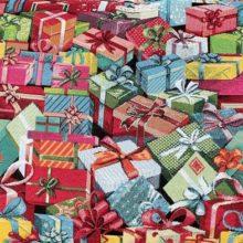 Meterstoff Geschenke Pakete Geschenkspäckchen STEEN DESIGN Winter Weihnachtsstoffe online kaufen La Cassetta Wien