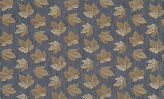 SANDERSON UK FLANNERY copper 1 Meterstoff Herbst Ahornblätter grau braun La Cassetta online kaufen