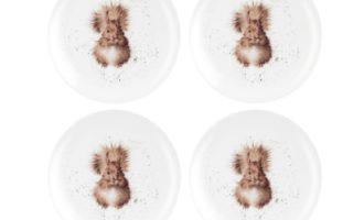 Royal Worcester WRENDALE Dessertteller 4er Set SQUIRREL Eichhörnchen online kaufen La Cassetta