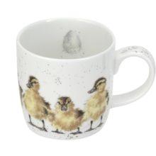 Royal Worcester WRENDALE Mug Tasse Häferl Entchen JUST HATCHED ducklings ducks La Cassetta Online Shop