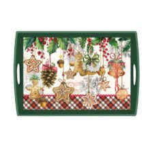Tablett MICHEL DESIGN WORKS groß Weihnachten HOLIDAY TREATS online kaufen La Cassetta