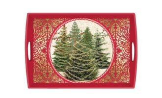 Tablett MICHEL DESIGN WORKS groß Weihnachten O TANNENBAUM online kaufen La Cassetta
